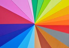 Colorful paper background Stock Image