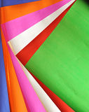 Colorful paper background set Royalty Free Stock Images