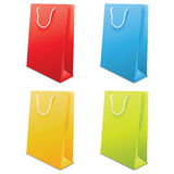 Colorful Paper Bags Vector Stock Images