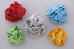 Colorful paper balls Royalty Free Stock Photos