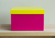 Colorful paper box Royalty Free Stock Photography