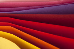Colorful paper card stoc Stock Image