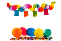 Colorful paper chain Stock Photos