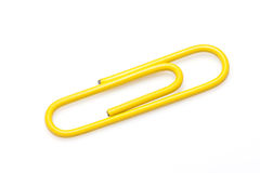 A colorful paper clip Stock Photography