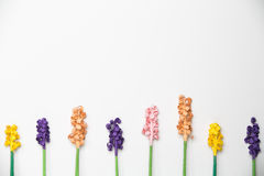 Colorful Paper Flower Pattern. Pattern of colorful paper flowers Royalty Free Stock Photo