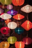 Colorful paper lanterns Stock Photo