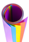 Colorful paper sheet Royalty Free Stock Photo