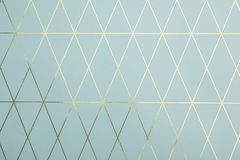 Colorful paper sheet with stylish pattern, top view royalty free stock photo