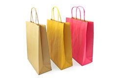 Colorful paper shopping bags Royalty Free Stock Image