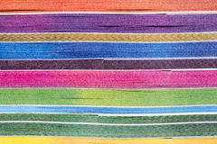 Colorful paper from Side of Book Royalty Free Stock Photography