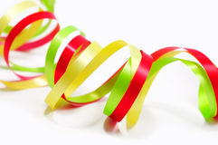 Colorful paper streamer Stock Image