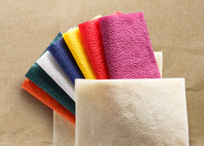 Colorful paper table napkins Royalty Free Stock Photos