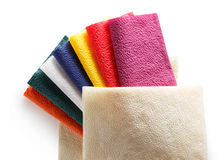 Colorful paper table napkins Royalty Free Stock Images