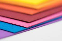 Colorful papers