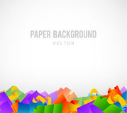 Colorful papers Stock Images