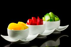 Colorful Paprika Royalty Free Stock Image