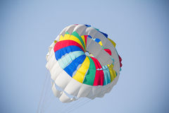 Colorful parachute Stock Images