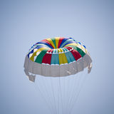 Colorful parachute Stock Image