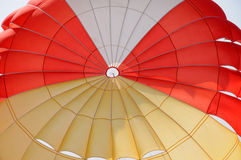 A colorful parachute Royalty Free Stock Image