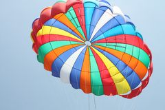 Colorful Parachute Royalty Free Stock Images