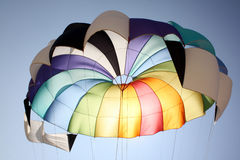 Colorful Parachute Royalty Free Stock Photography