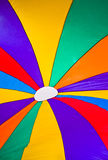 Colorful parachute as background Royalty Free Stock Image