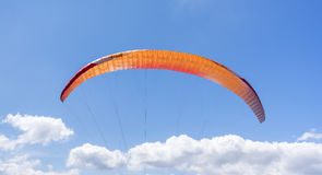 The colorful parachute. Royalty Free Stock Photos