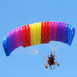 Colorful paraglider Royalty Free Stock Photo