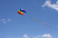Colorful Parasail Kite Royalty Free Stock Images