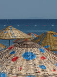 Colorful parasols Stock Photography