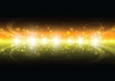 Colorful particle Royalty Free Stock Photo
