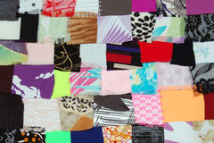 Colorful parts of fabric Royalty Free Stock Photos