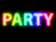 Colorful - party Stock Photography