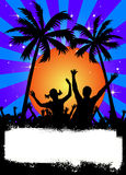 Colorful party background Stock Photo