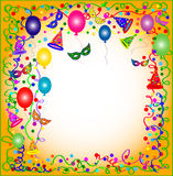 Colorful Party background Royalty Free Stock Images