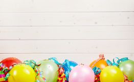 Colorful party background with copy space royalty free stock photos