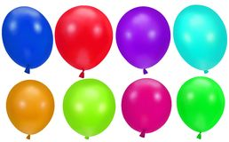 Colorful party balloons background Royalty Free Stock Photography