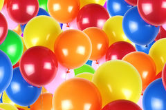 Colorful party balloons Royalty Free Stock Photography