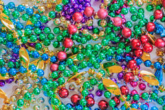 Colorful Party Beads Stock Photography