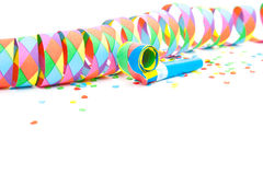 Colorful party decoration Stock Photos