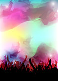 Colorful party design Stock Image