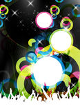 Colorful party design Stock Photography