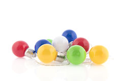 Colorful party lights Stock Photography