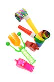 Colorful party novelties Royalty Free Stock Photography