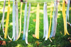 Colorful party ribbon