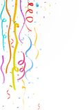 Colorful party streamer Royalty Free Stock Images