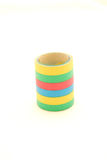 Colorful party streamers Stock Photo