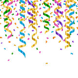 Colorful Party Streamers Royalty Free Stock Image