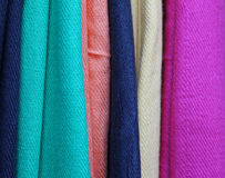 Colorful pashmina Stock Images