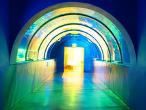 Colorful passageway Royalty Free Stock Photos